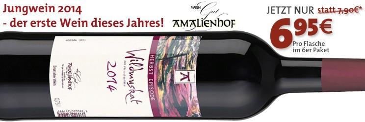 Jungwein 2014 - der erste Wein dieses Jahres!