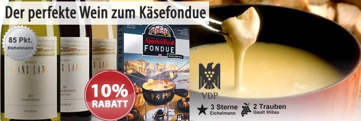 Der perfekte Wein zum Käsefondue