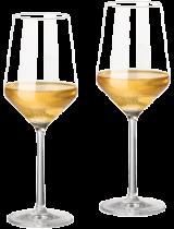 2er Set Zwiesel Kristallglas Pure Weißweinglas 408ml - Schott Zwiesel