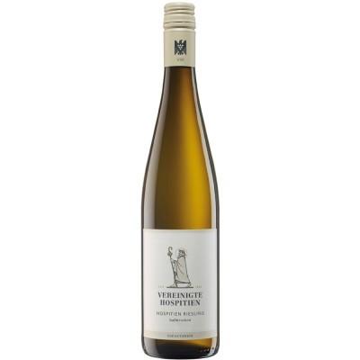 Vereinigte Hospitien 2017 Hospitien Riesling Qualitätswein halbtrocken |VDP Gutswein