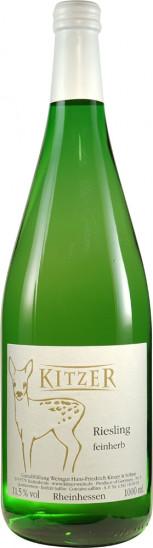 2020 Riesling feinherb 1,0 L - Weingut Kitzer