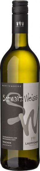 2020 schwarzIweiß Schwarzriesling Weißgekeltert trocken - Lauffener Weingärtner