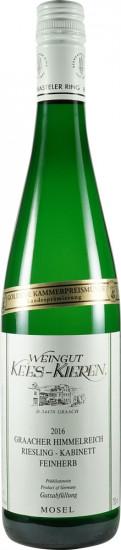 2020 Graacher Himmelreich Riesling Kabinett feinherb - Weingut Kees-Kieren