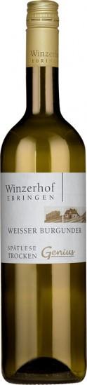 2020 Weißer Burgunder Spätlese trocken - Winzerhof Ebringen