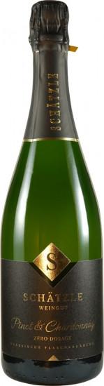 2014 Pinot & Chardonnay Sekt brut nature - Weingut Schätzle