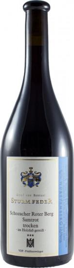 2014 Schozach Samtrot *** trocken - Weingut Graf von Bentzel-Sturmfeder