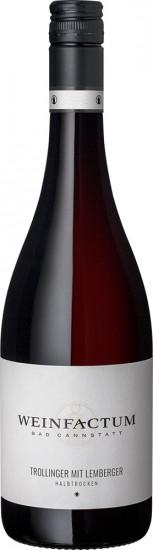 2019 Trollinger mit Lemberger * Cuvée halbtrocken - Weinfactum