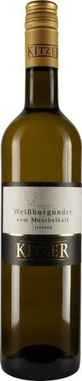 2020 Volxheimer Weißer Burgunder vom Muschelkalk trocken - Weingut Kitzer