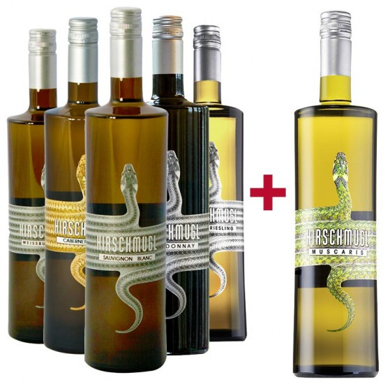 5+1 Weißwein Kennenlernpaket BIO - Hirschmugl - Domaene am Seggauberg