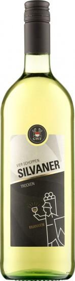 2020 VIER SCHOPPEN Silvaner Qualitätswein trocken 1,0 L - Winzergemeinschaft Franken eG