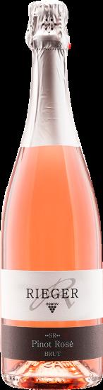 2018 Pinot Rosé Winzersekt brut Bio - Weingut Rieger