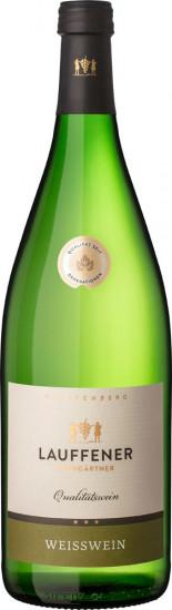 Weißwein Cuvée halbtrocken 1,0 L - Lauffener Weingärtner
