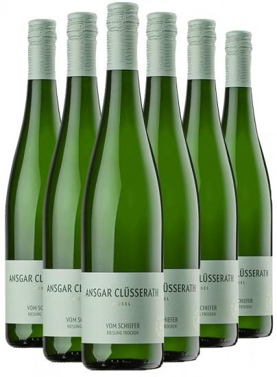 Vom Schiefer Riesling trocken Paket - Weingut Ansgar Clüsserath