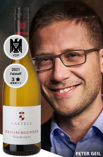 2020 Gipskeuper Weißburgunder VDP.Gutswein trocken - Weingut Castell