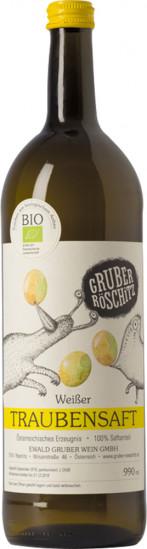 Traubensaft weiß Bio 1,0 L - Weingut Gruber Röschitz