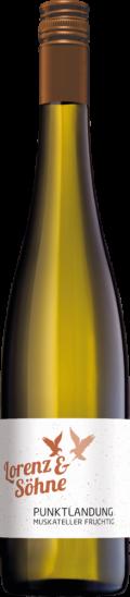 2020 Lorenz Muskateller fruchtig Punktlandung süß - Weingut Lorenz und Söhne