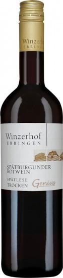 2016 Spätburgunder Spätlese Genius trocken - Winzerhof Ebringen