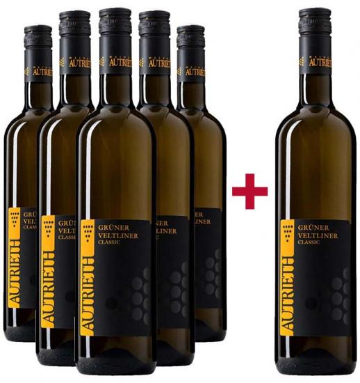 5+1 Grüner Veltliner Classic Paket - Weingut Autrieth