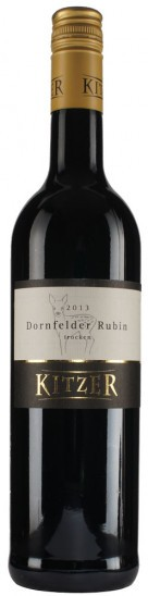 2018 Dornfelder Rubin trocken - Weingut Kitzer
