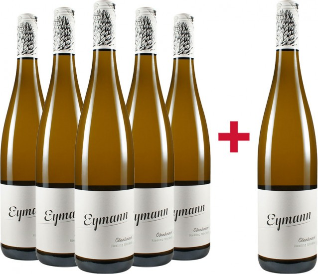 5+1 Gönnheimer Riesling trocken BIO Paket - Weingut Eymann