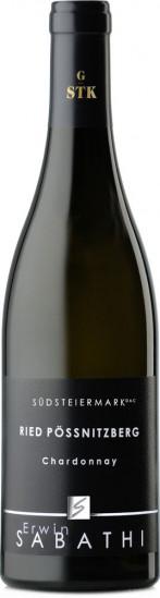 2018 Ried Pössnitzberg Chardonnay trocken - Weingut Erwin Sabathi