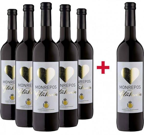5+1 Paket Monrepos Herzogs Glühwein - Weingut Herzog von Württemberg