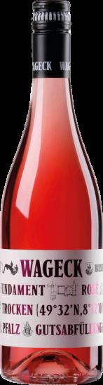 2020 Fundament Cuvée Rosé trocken - Weingut Wageck