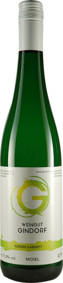 2018 Kerner Kabinett süß - Weingut Gindorf