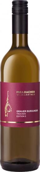 2020 Grauer Burgunder >S trocken - Fellbacher Weingärtner eG