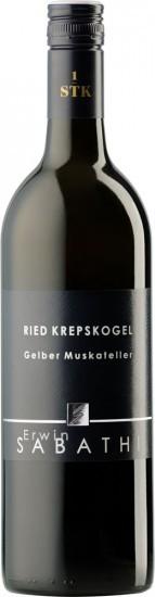 2017 Ried Krepskogel Gelber Muskateller trocken - Weingut Erwin Sabathi