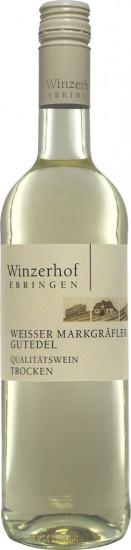 2020 Gutedel Weißer Markgräfler trocken - Winzerhof Ebringen