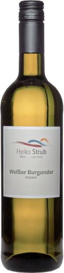 2020 Weißer Burgunder trocken - Weingut Heiko Strub