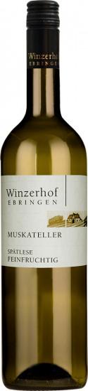 2019 Muskateller Spätlese feinfruchtig feinherb - Winzerhof Ebringen
