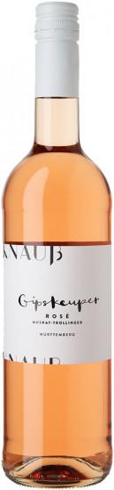 2020 Gipskeuper Muskattrollinger Rosé trocken BIO - Weingut Knauß