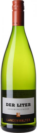 2020 Der Liter Grauburgunder trocken 1L - Weingut Langenwalter