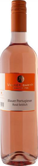 2018 Blauer Portugieser Rosé lieblich - Weingut Volker Barth