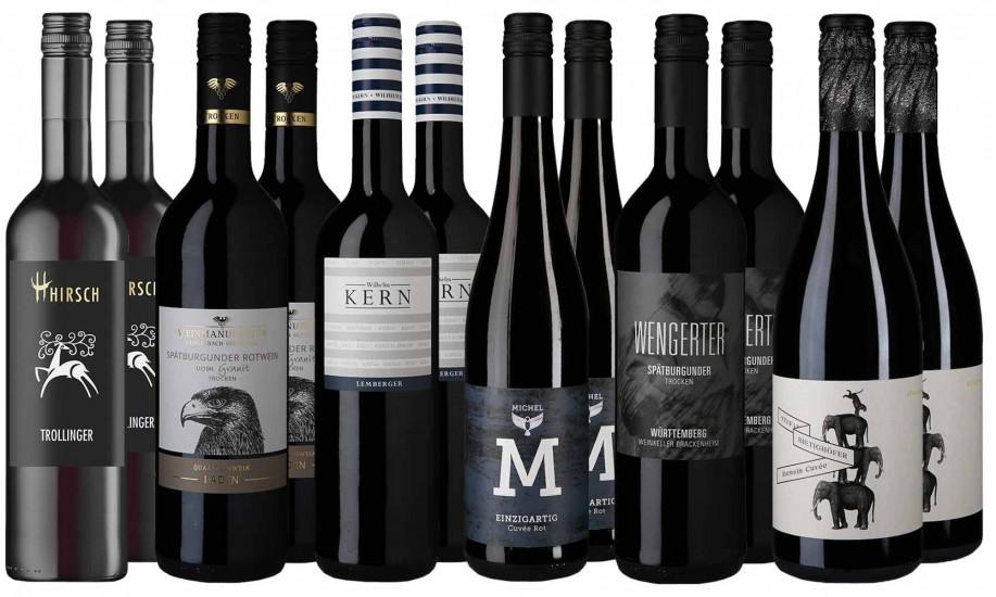 Großes Rotwein Entdecker-Paket