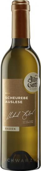 2018 Scheurebe Auslese edelsüß 0,5 L - Alde Gott Winzer Schwarzwald
