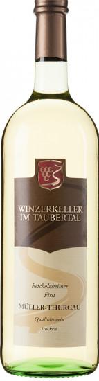 2020 Reicholzheimer First Müller-Thurgau trocken 1,0 L - Winzergemeinschaft Franken eG