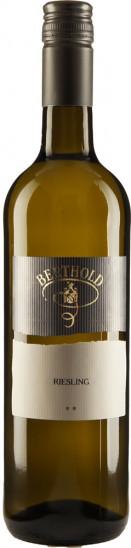 2020 Riesling ** trocken - Weingut Berthold
