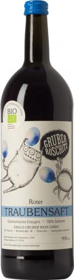 Traubensaft rot Bio 1,0 L - Weingut Gruber Röschitz