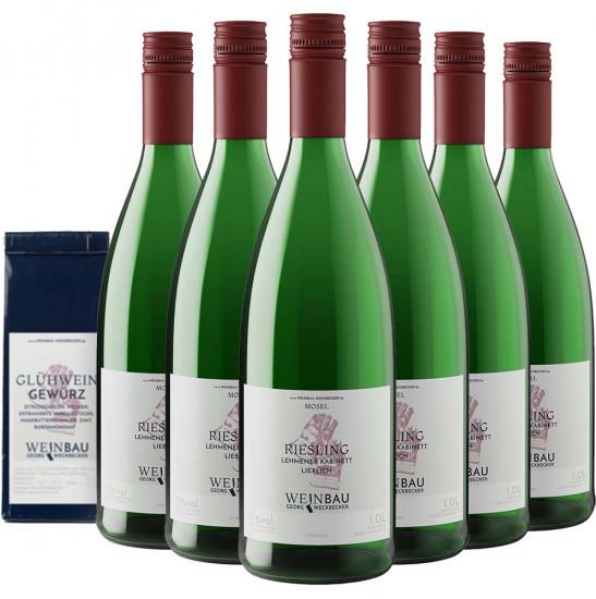 Glühwein-Set weiß zum Selbermachen - Weinbau Weckbecker