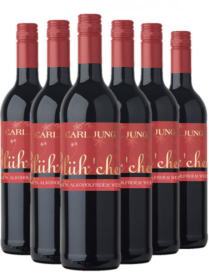 Glüh'chen Alkoholfrei (6 Flaschen) - Carl Jung