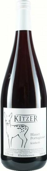 2020 Blauer Portugieser halbtrocken 1,0 L - Weingut Kitzer
