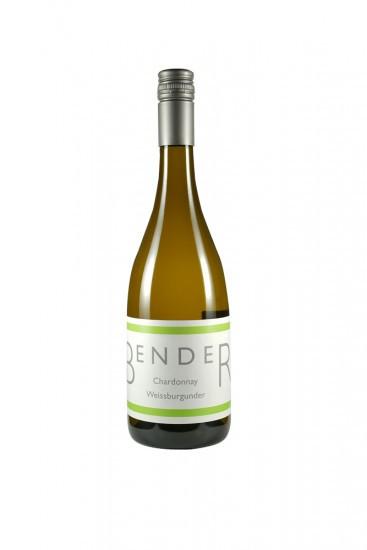 2016 Chardonnay/Weißburgunder trocken - Weingut Manfred Bender