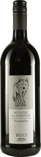 Winzer-Glühwein Dornfelder weniger gesüßt feinherb 1,0 L - Weingut Wolf