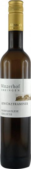 2015 Gewürztraminer Beerenauselese edelsüß 0,5 L - Winzerhof Ebringen