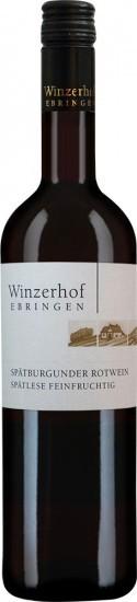 2018 Spätburgunder Spätlese feinfruchtig feinherb - Winzerhof Ebringen