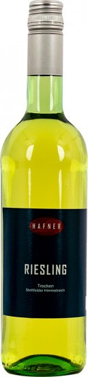2018 Stettfelder Himmelreich Riesling, trocken - Weingut Hafner