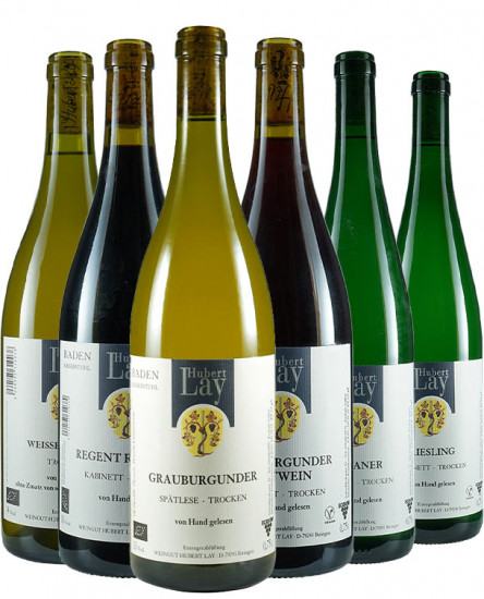 Kennenlernpaket Hubert Lay BIO - Ökologisches Weingut Hubert Lay